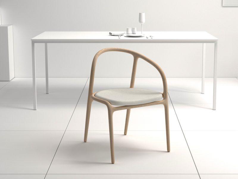 diseño silla manca escenario