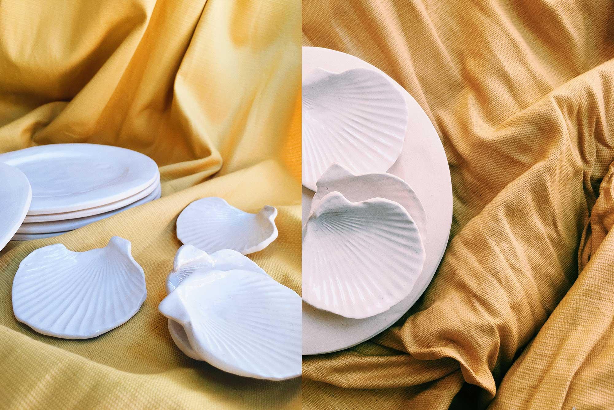 piezas ceramica cocina