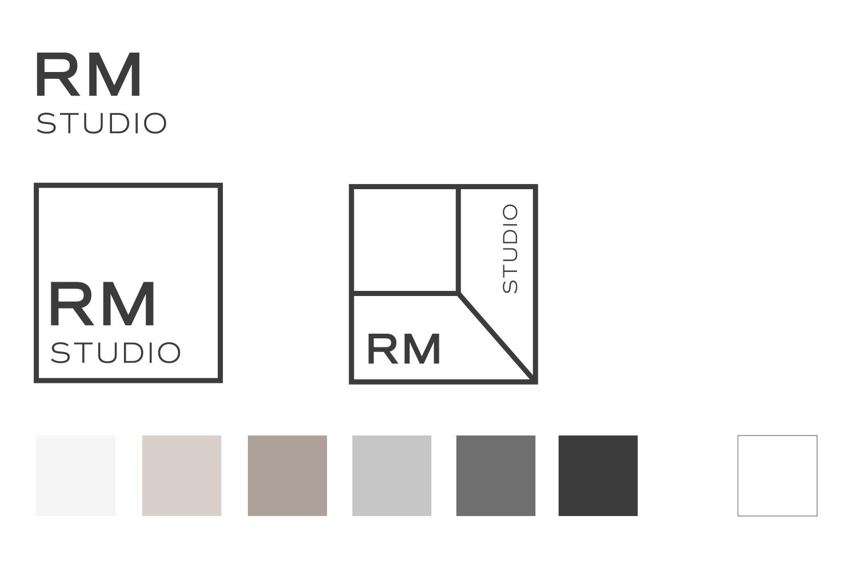 logotipo identidad estudio diseño interiores