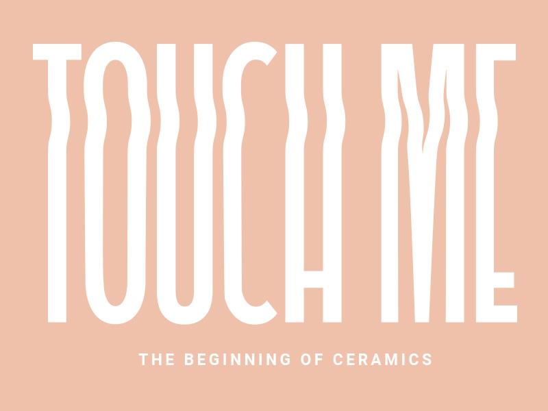 diseño logotipo proyecto ceramica touchme