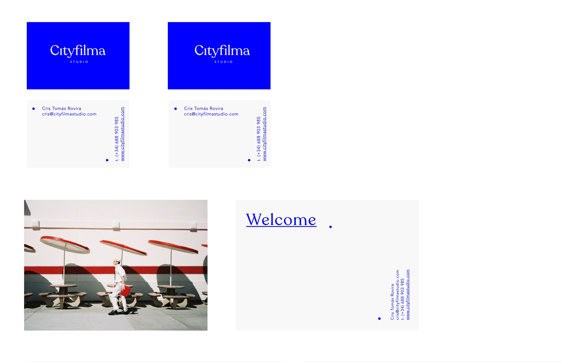 diseño identidad papeleria estudio foto
