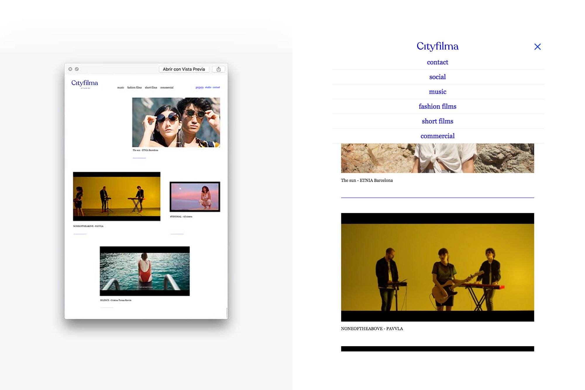 diseño web estudio foto