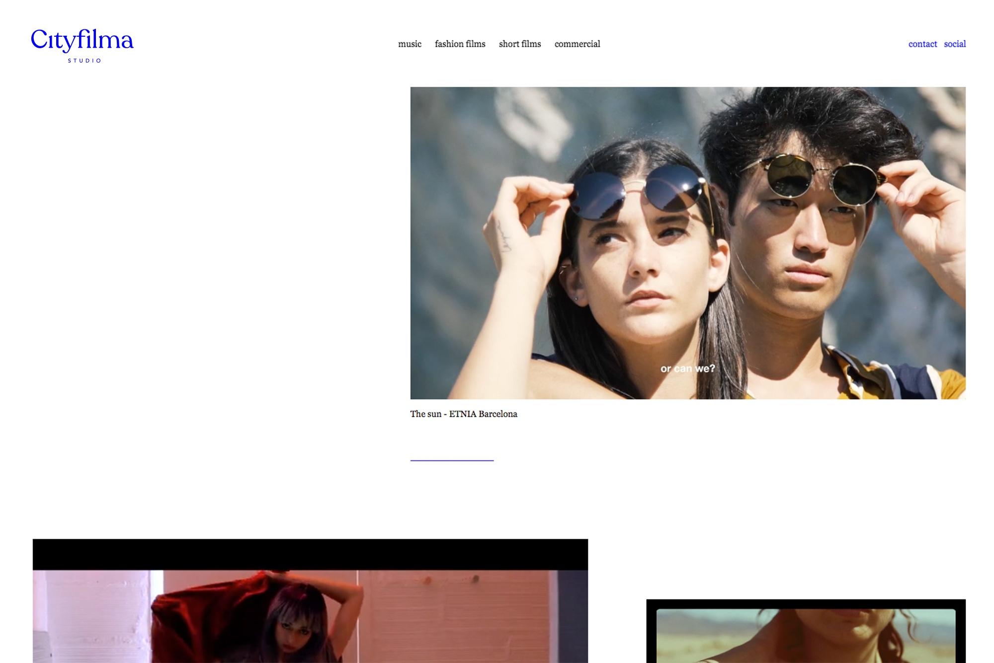 diseño web identidad estudio foto