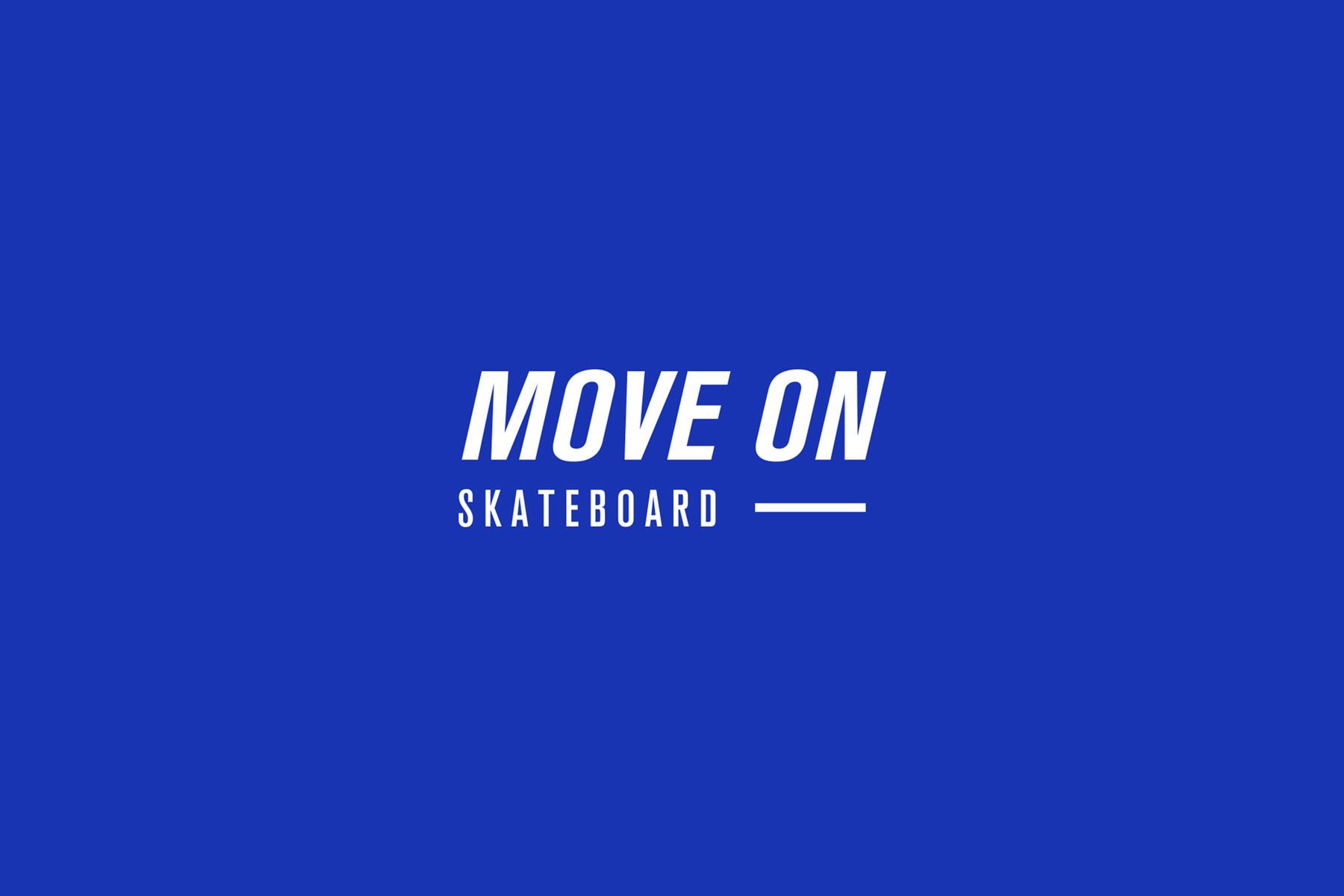 diseño logotipo skateboard negativo
