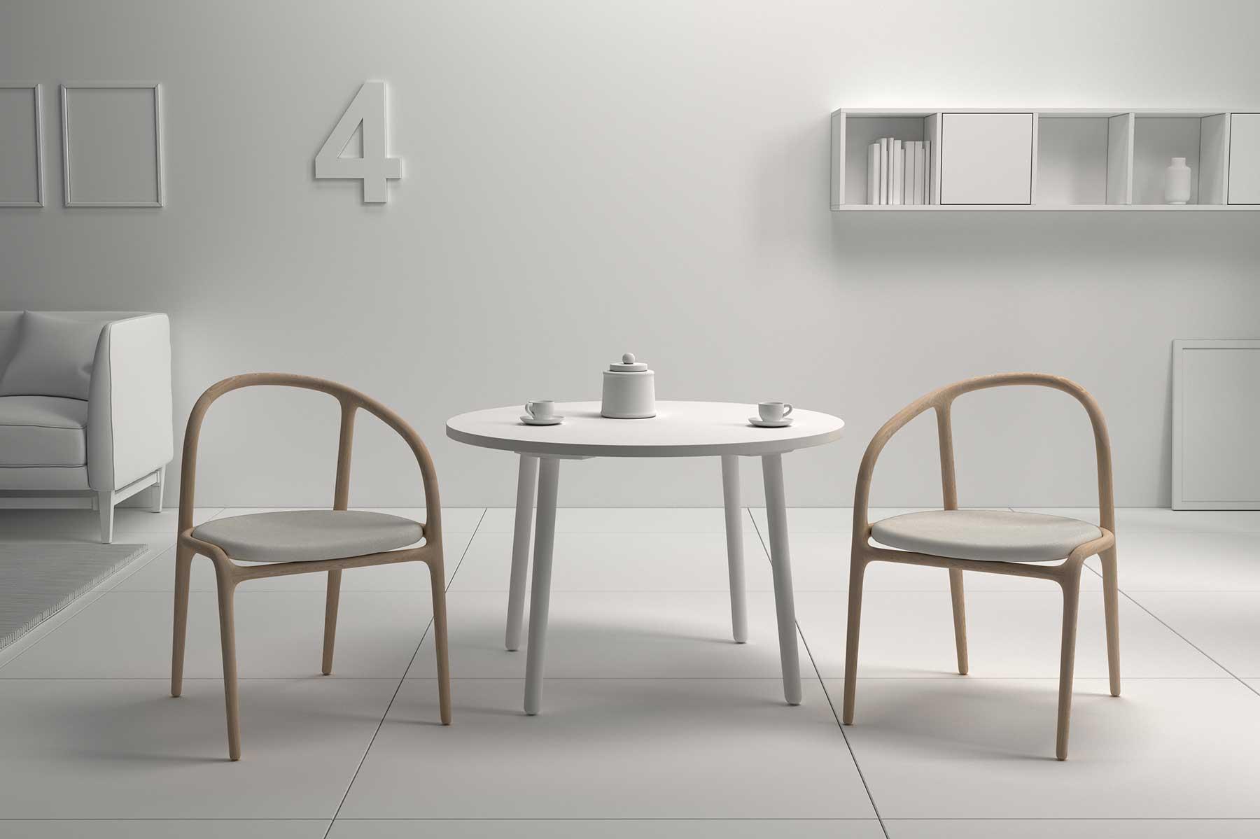 diseño silla manca doble escenario